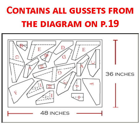 Part 103 Gusset Pack 01 (Frame Gussets)